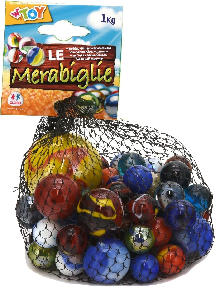 WTOY 76152 Globo Summer Assorted Marble 1 kg Multi-Color