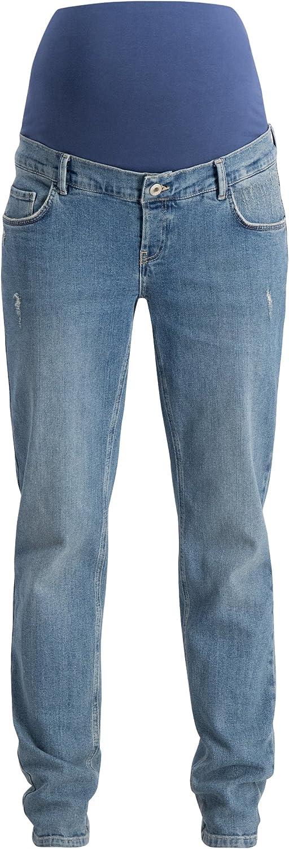 Noppies Damen Jeans OTB Boyfriend Robin Vintage Aged Umstandsjeans