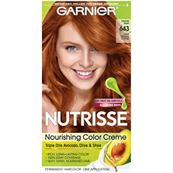 Amazoncom Garnier Nutrisse Nourishing Color Creme 643 Light