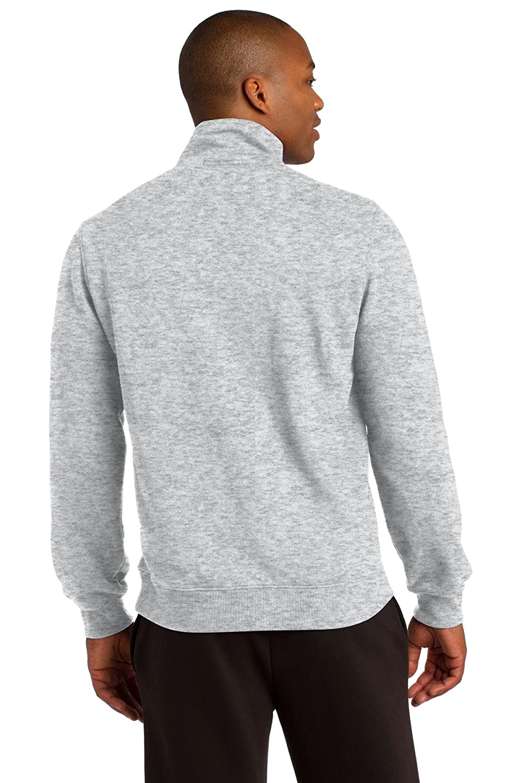Sport-Tek 174 1//4-Zip Sweatshirt ST253 X-Large Athletic Heather