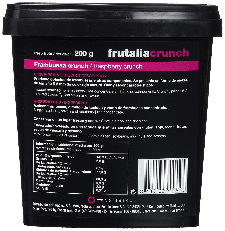 Tradissimo, Frambuesa deshidratada - 200 gr.: Amazon.es: Alimentación y bebidas