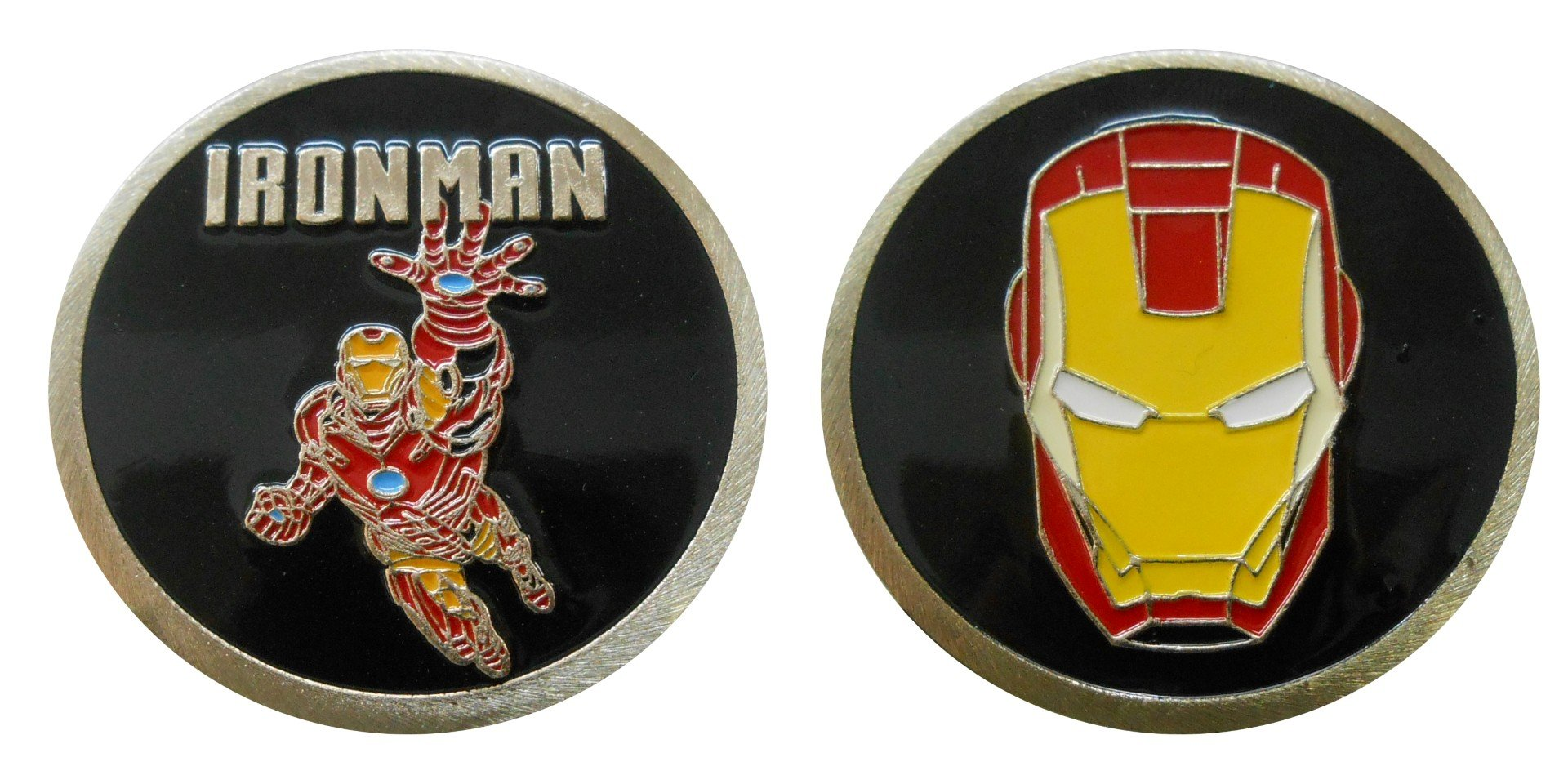 Ironman - Character Collectible Challenge Coin / Logo Poker / Lucky Chip