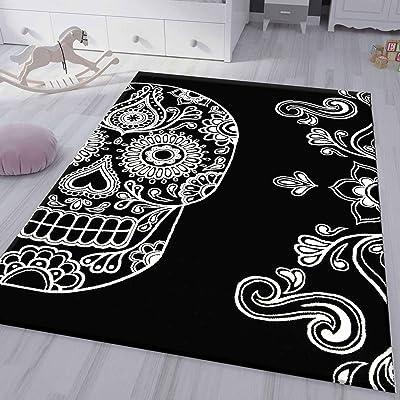 tapis salon tête de mort 3