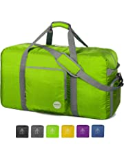 92ec6ca5e Foldable Duffel Bag 40L ~ 100L for Travel Luggage Gym Sports Duffle  Lightweight Water Resistant 10