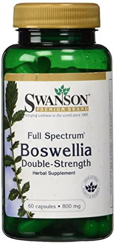 Swanson Full Spectrum Double Strength Boswellia (800mg, 60 Capsules)