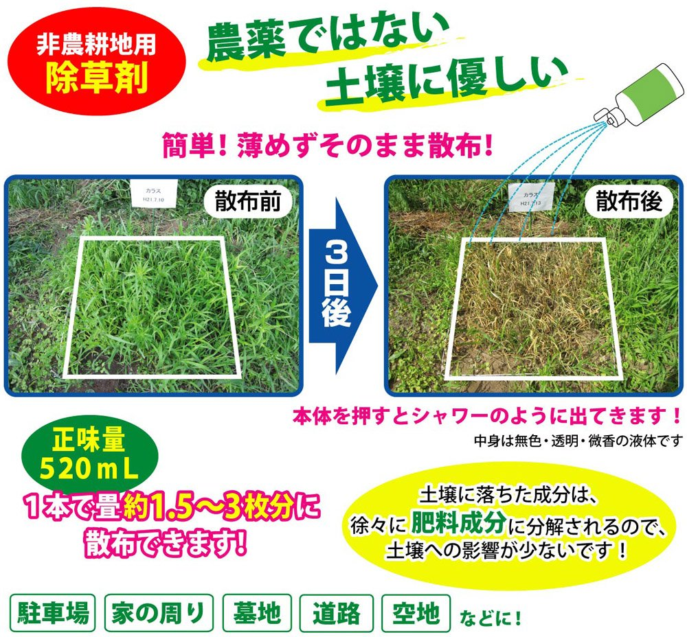 農薬不使用 雑草枯らし110番 (12本組) B00U10J2E4 12