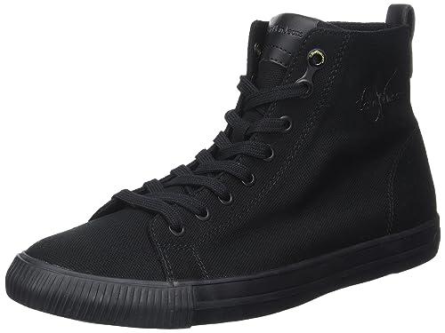 Calvin Hombre Klein Arthur Canvas Zapatillas para Hombre Calvin Negro Black/Black 745142