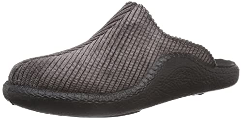 Romika Mokasso 246 71046 - Pantuflas de fieltro para hombre, color negro, talla 41