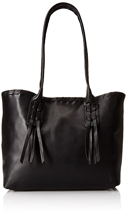 Amazon.com: FRYE Layla Concho Shopper Shoulder Bag, Black, One ...
