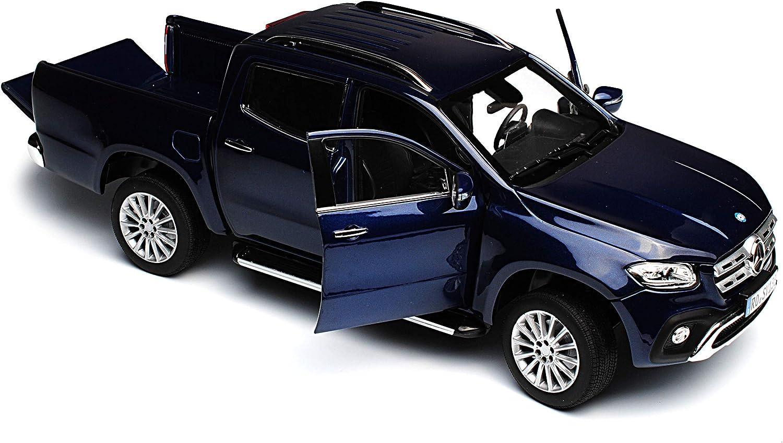 Norev Mercedes-Benz X-Klasse Pick-Up 470 Blau Metallic AB 2017 1//18 Modell Auto