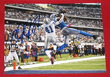 size 40 e8461 e8af9 CALVIN JOHNSON AUTOGRAPHED DETROIT LIONS 8X10 PHOTO AASH ...