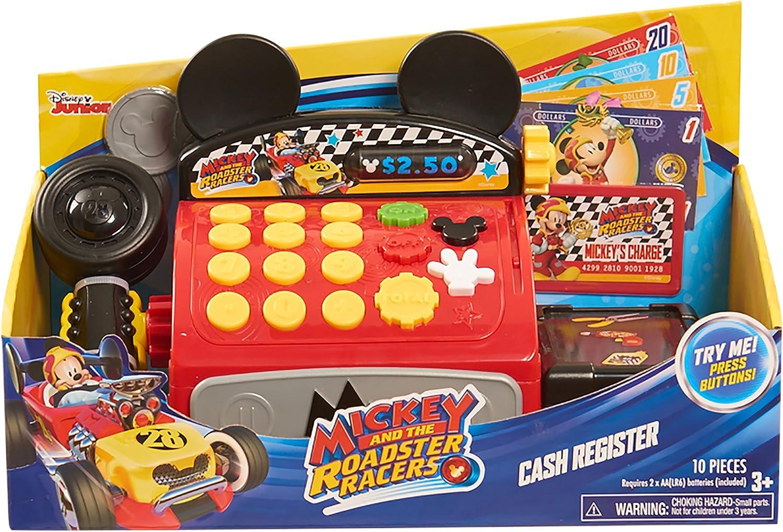 Disney Junior JPL38236 Mickey and the Roadster Racers Cash Registro Playset: Amazon.es: Juguetes y juegos
