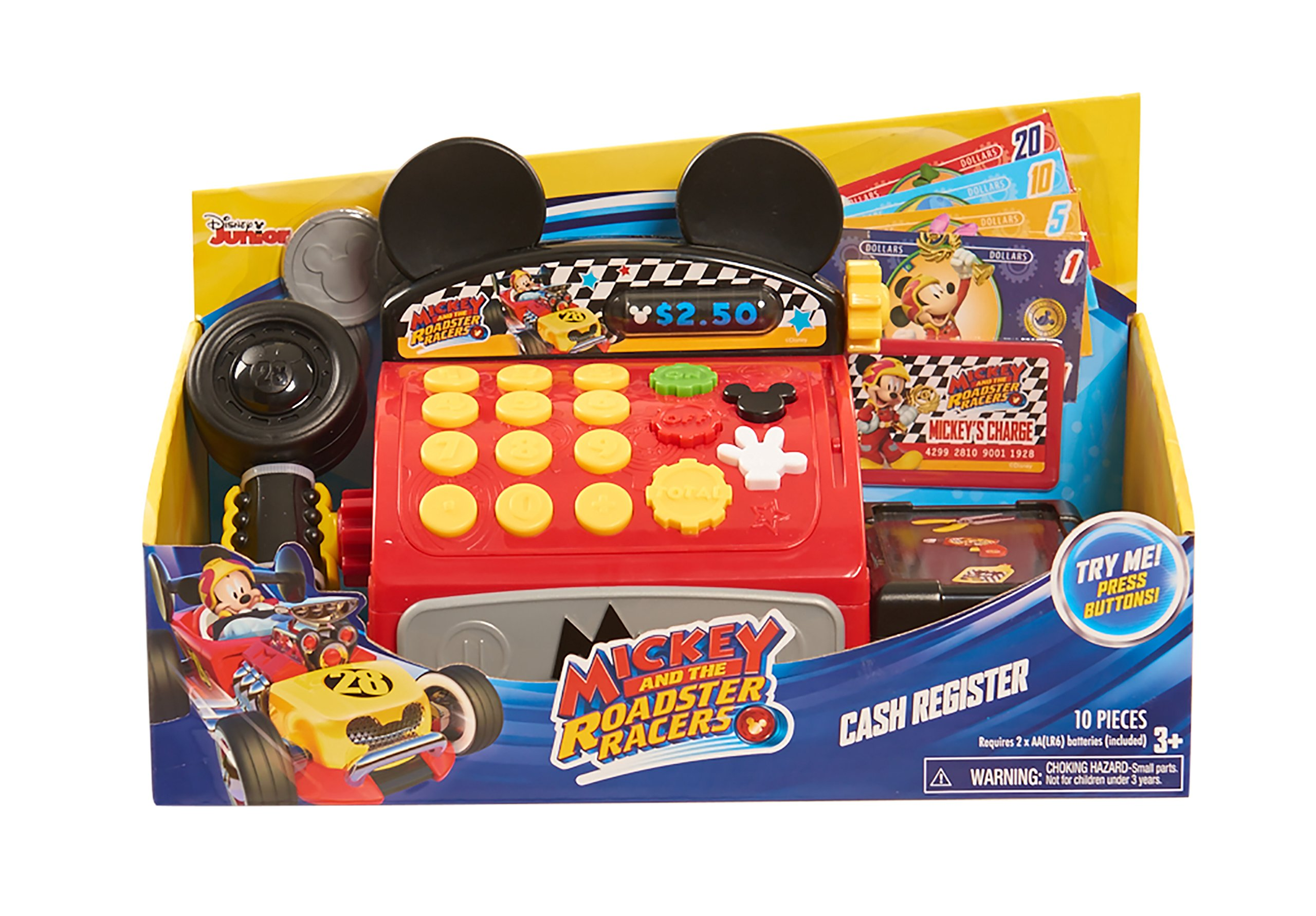 Mickey and the Roadster Racer Cash Register by MICKEY ROADSTERS