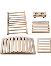 "Radiant Saunas SA5024 Deluxe Sauna Accessory Kit, 23.625"" x 11.75"" x 4.33"", Natural"