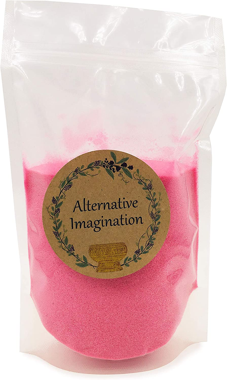 Alternative Imagination Fine Colored Sand, Pink, 1 Pound