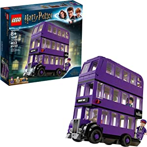LEGO Harry Potter and The Prisoner of Azkaban Knight Bus 75957 Building Kit, New 2019 (403 Pieces)