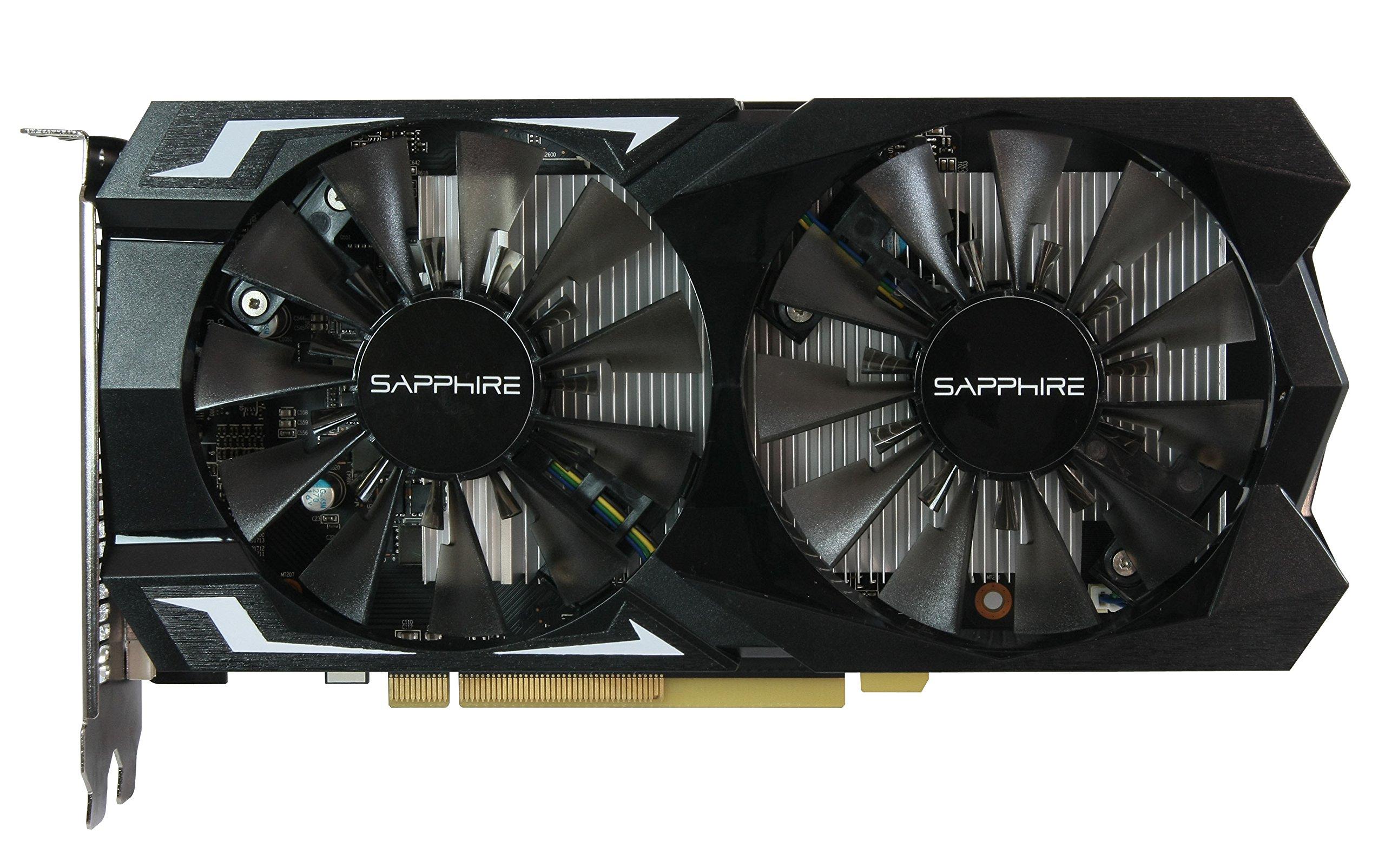 Sapphire Radeon Pulse RX 560 16CU 2GB GDDR5 HDMI / DVI-D / DP (UEFI) PCI-E Graphics Card