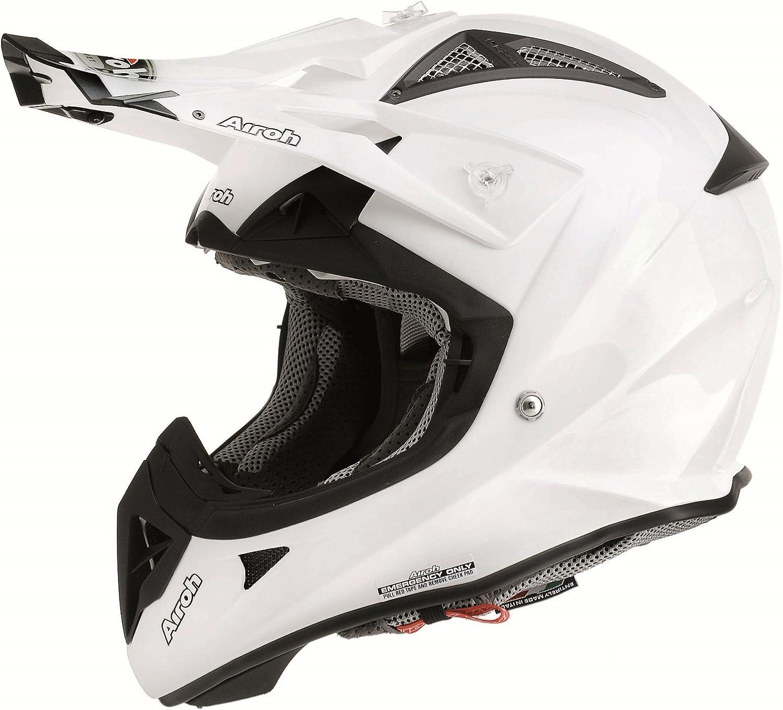 Schwarz 53//54 Airoh Terminator 2.1/Rockstar Motocross-Helm XS
