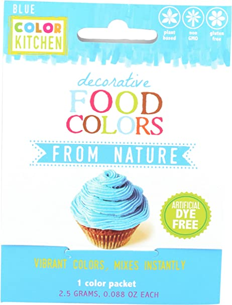Bright Blue Food Coloring