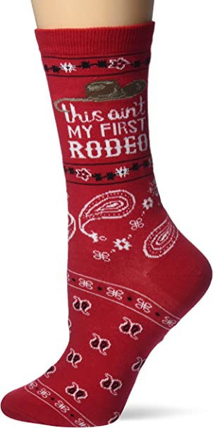 Ariat Women/'s Rodeo Knee-Length Socks