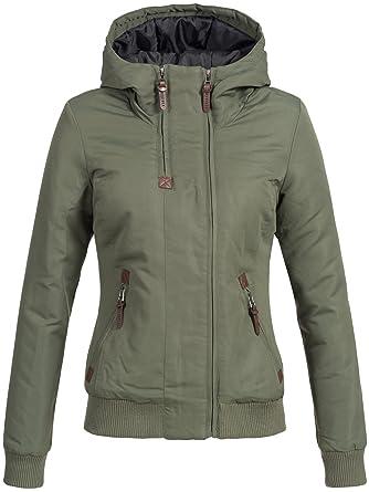 Elva Farben Gefütterter Kapuze Xs Winterjacke Jacke Damen Mit 5 Xl Desires PZiuTOkX