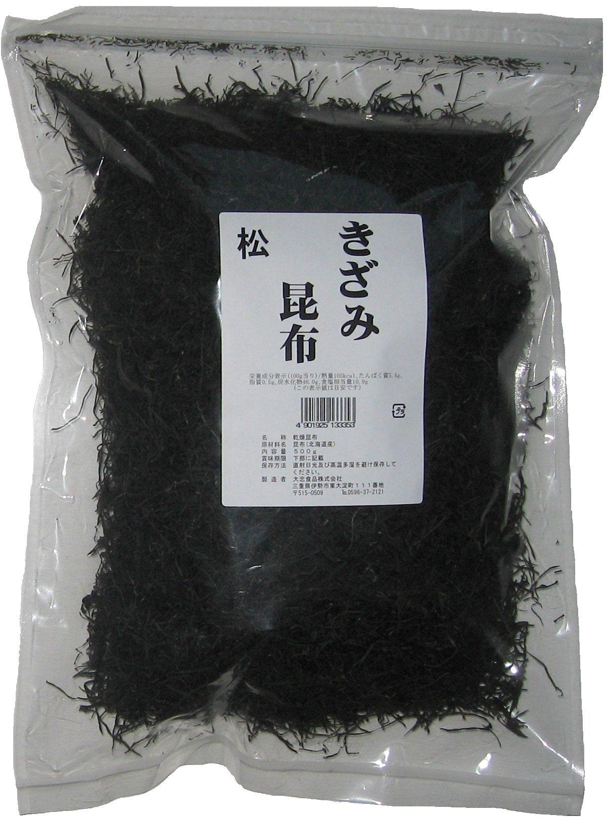 Daichu food increments kelp pine Hokkaido 500g