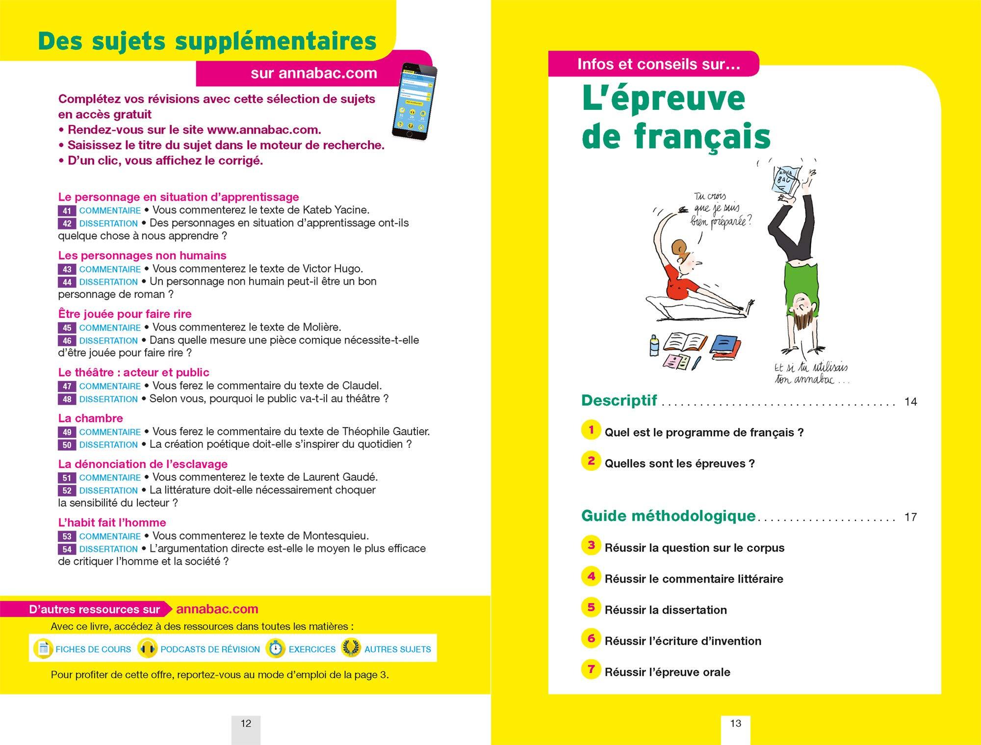 Annales Annabac 2019 Français 1re STMG, STI2D, STD2A, STL, ST2S: sujets et corrigés du bac Première séries technologiques: Amazon.es: Sylvie Dauvin, ...