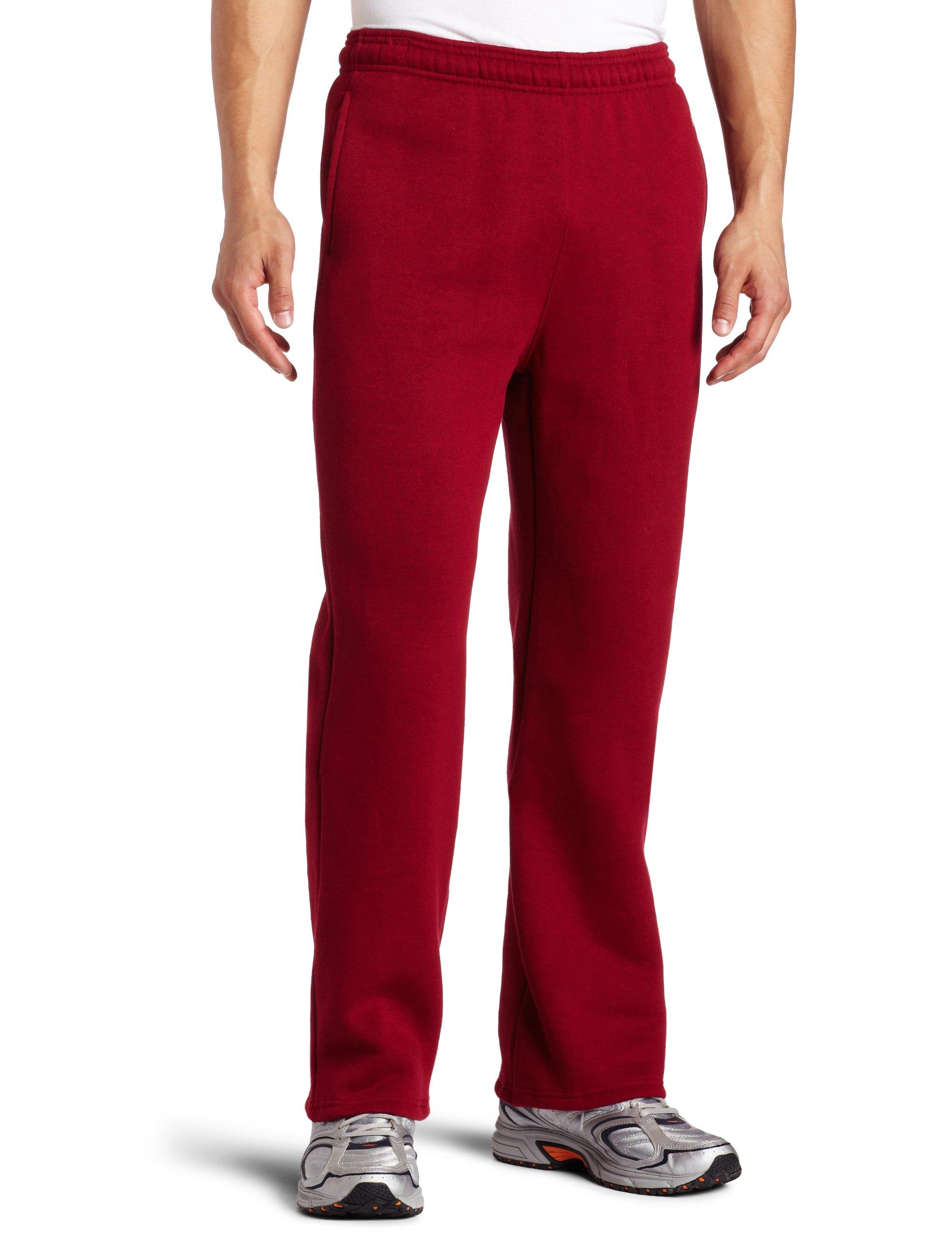 Soffe MJ Men's Training Fleece Pocket Pant, Cardinal Small