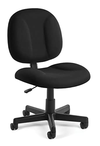 OFM 105-805 Superchair Task Chair with Black Fabric