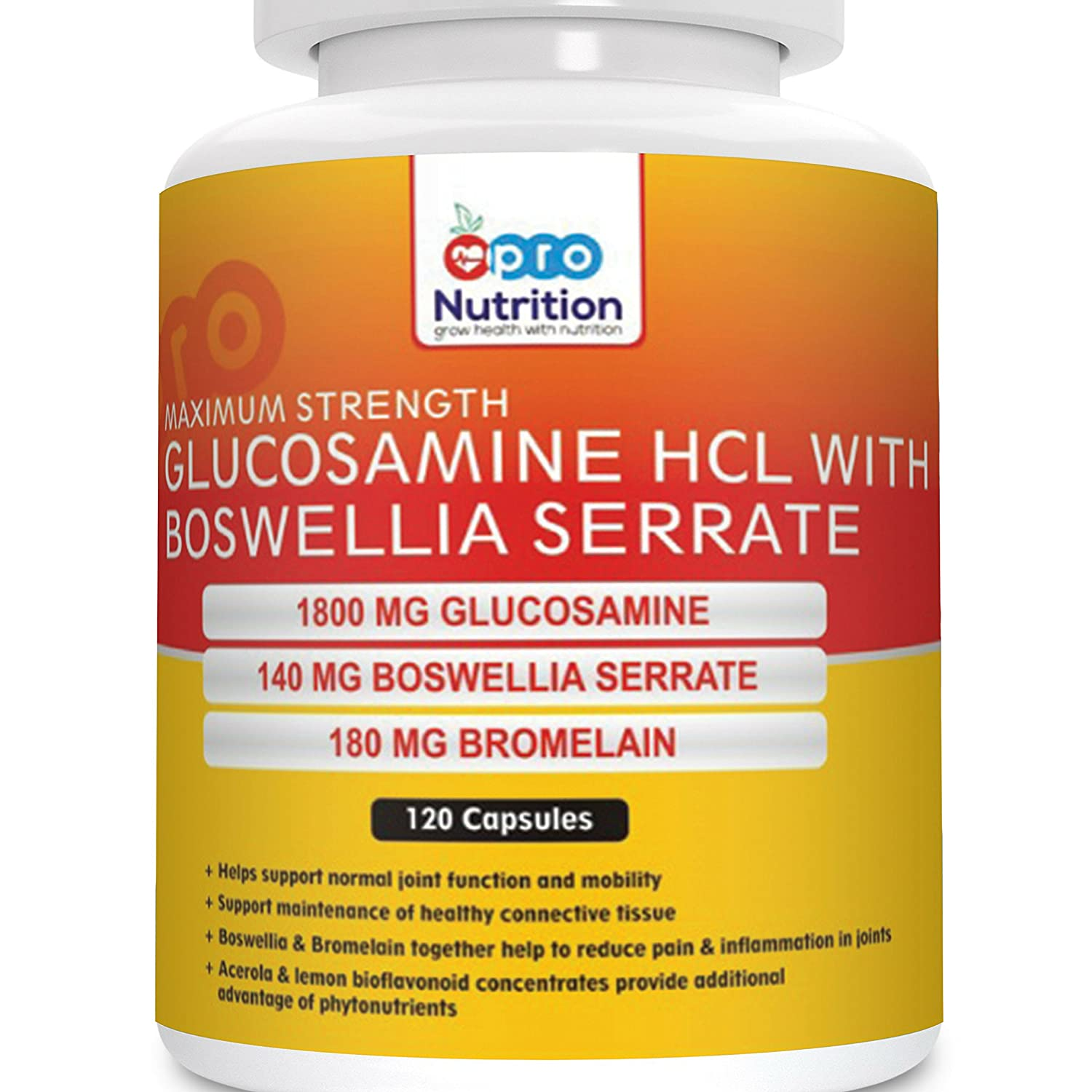 Pronutrition Glucosamine Hcl With Boswellia (Double