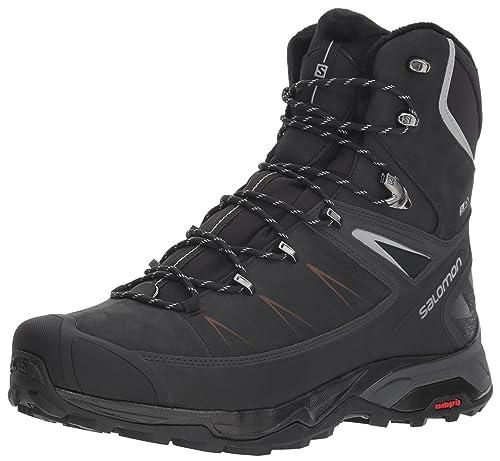 Details zu SALOMON 40 Schuhe Stiefel Winter Sneaker Boots Wander Trekking schwarz Damen 39