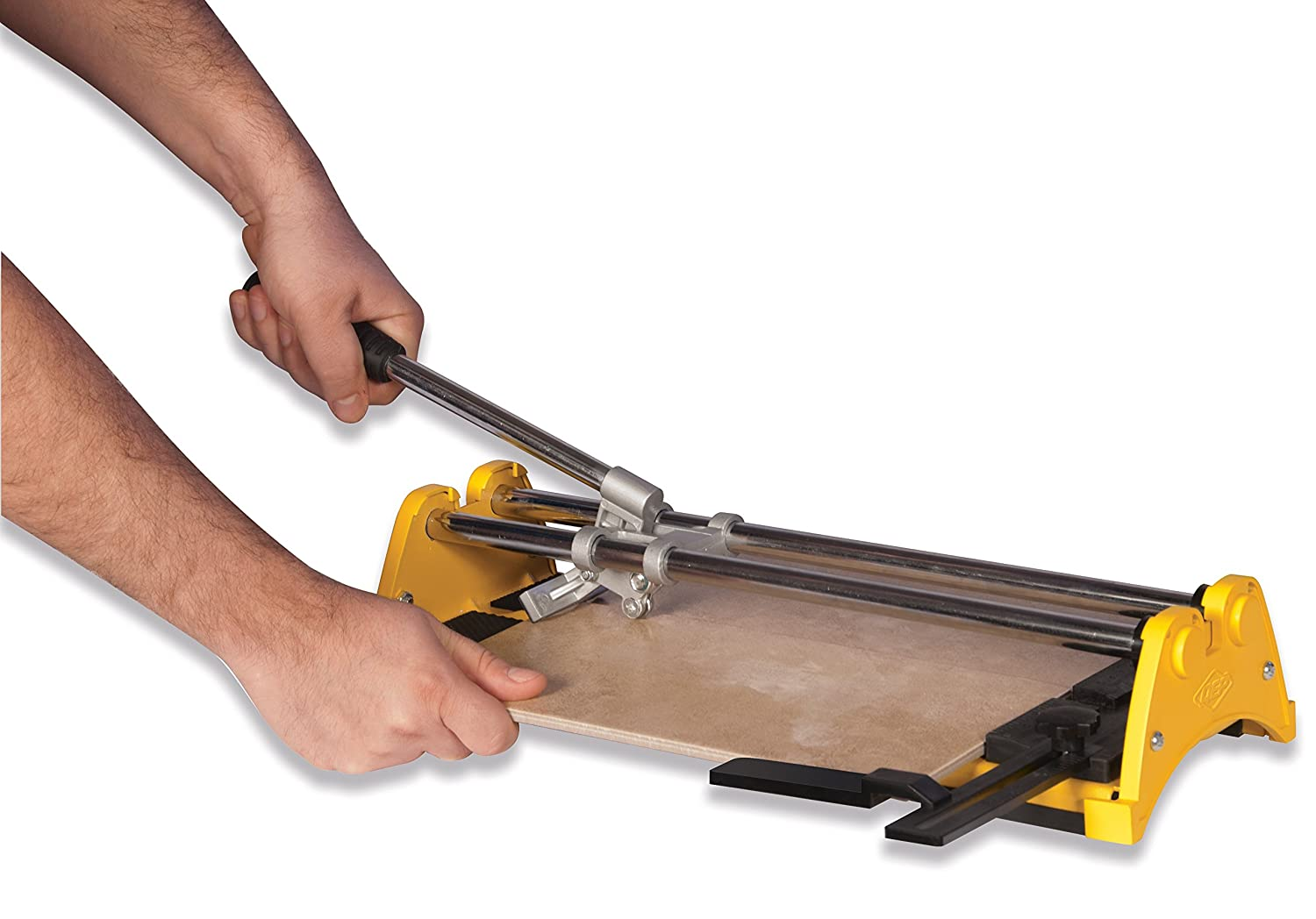 Qep 10214q 14 in rip ceramic tile cutter with 12 in cutting qep 10214q 14 in rip ceramic tile cutter with 12 in cutting wheel qep tile cutter amazon dailygadgetfo Gallery
