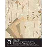Black Ink Decorative Paper Pack, 8.5 by