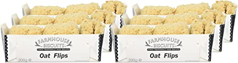 Farmhouse Biscuits Oat Flips 200g Amazon Co Uk Grocery