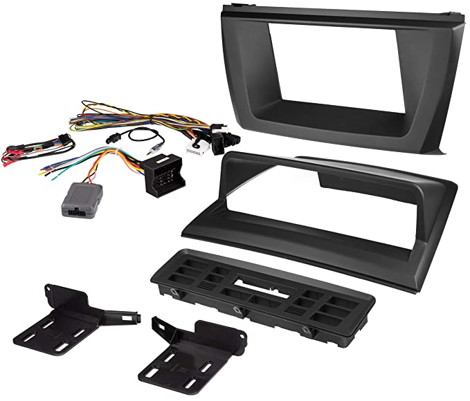 image unavailable  image not available for  color: scosche bw2339srb 2004-2010  bmw x3 e83 double din stereo installation kit