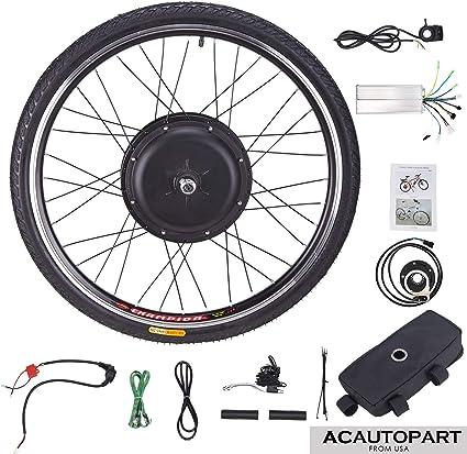 Sfeomi Kit de Conversión de Bicicleta Eléctrica 48V 1000W Kit de ...