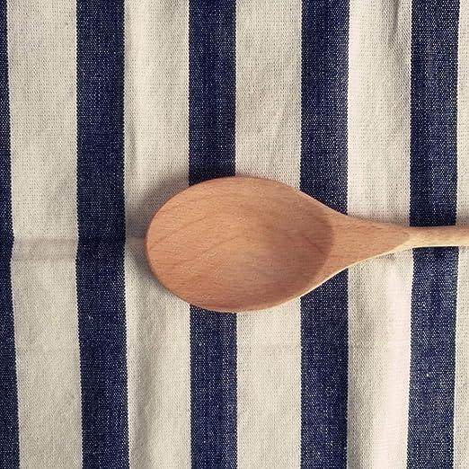 Cucharas De Madera, Cucharas De Sopa De Madera Para Comer, Agitación De Mezcla, Cuchara De Mango Largo Con Utensilio De Cocina De Estilo Japonés, Cuchara De Té De Café De Madera: Amazon.es: