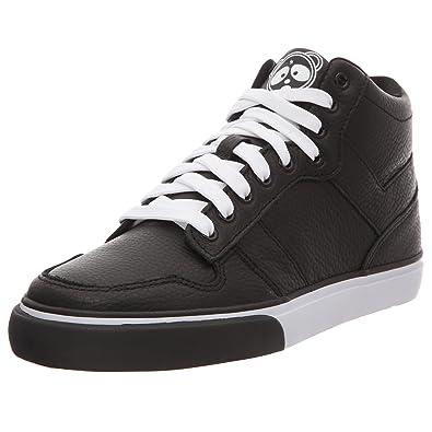Pony Signature - Zapatillas de deporte de cuero para hombre, color negro, talla 41