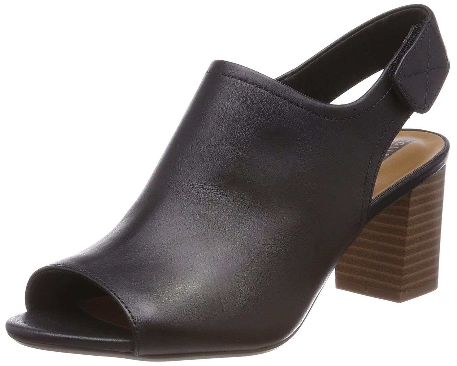 Clarks Deva Jayleen, Sandales Jayleen, Bride arrière Femme (Black B004H7RVXQ Noir (Black Leather) 24fdfe6 - fast-weightloss-diet.space