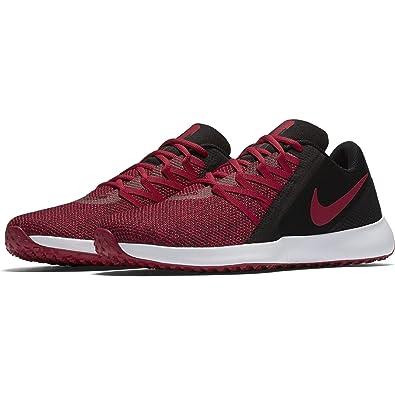 big sale 03bbf 75dcd Nike Men s Varsity Compete Trainer Shoe, Black Gym Red, ...