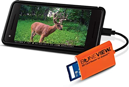 New Corded Trail Camera Viewer Plays Deer Hunting SD Card Reader For IPhone