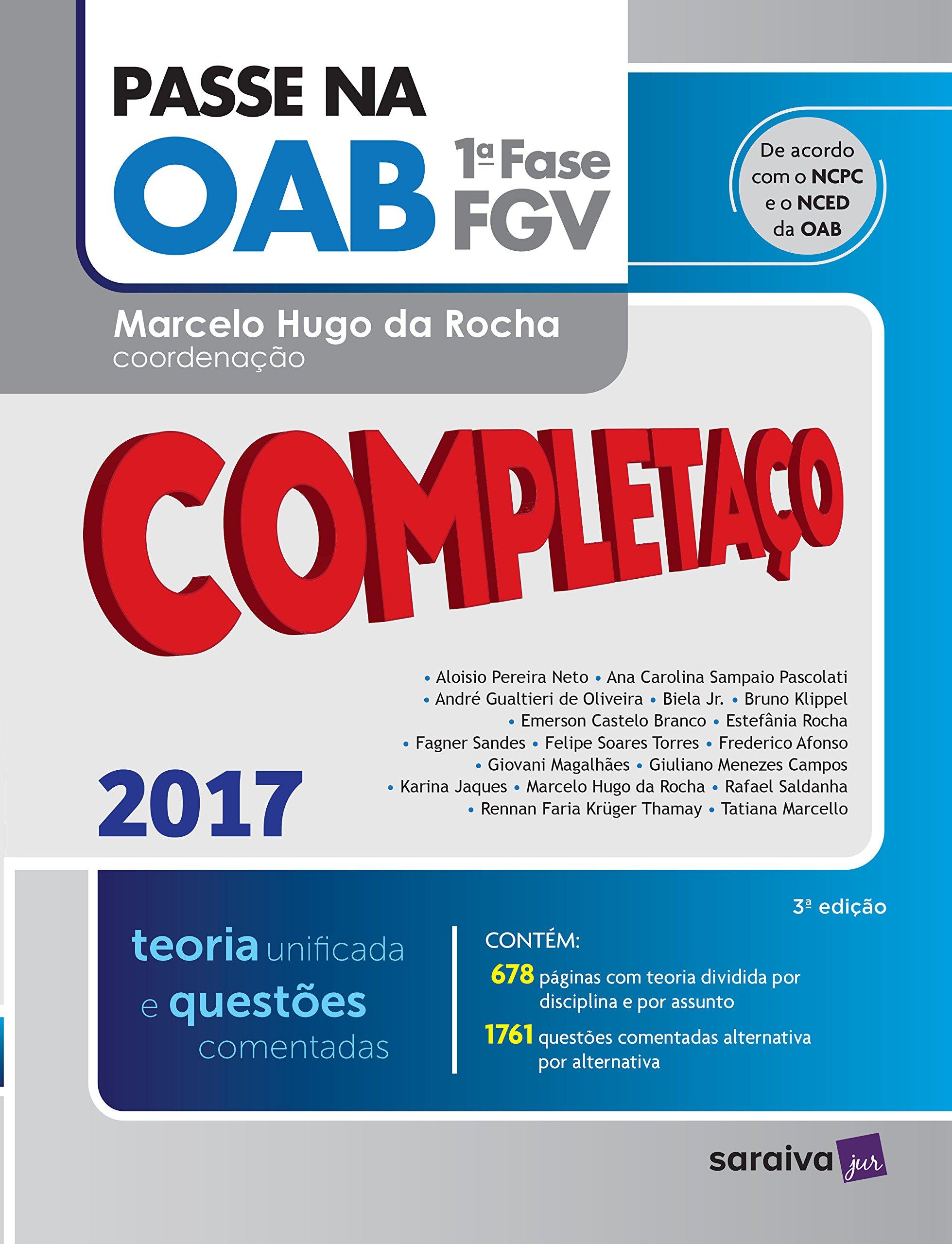 Download Passe na OAB 1ª Fase. Completaço. Teoria Unificada e Questões Comentadas (Em Portuguese do Brasil) pdf epub