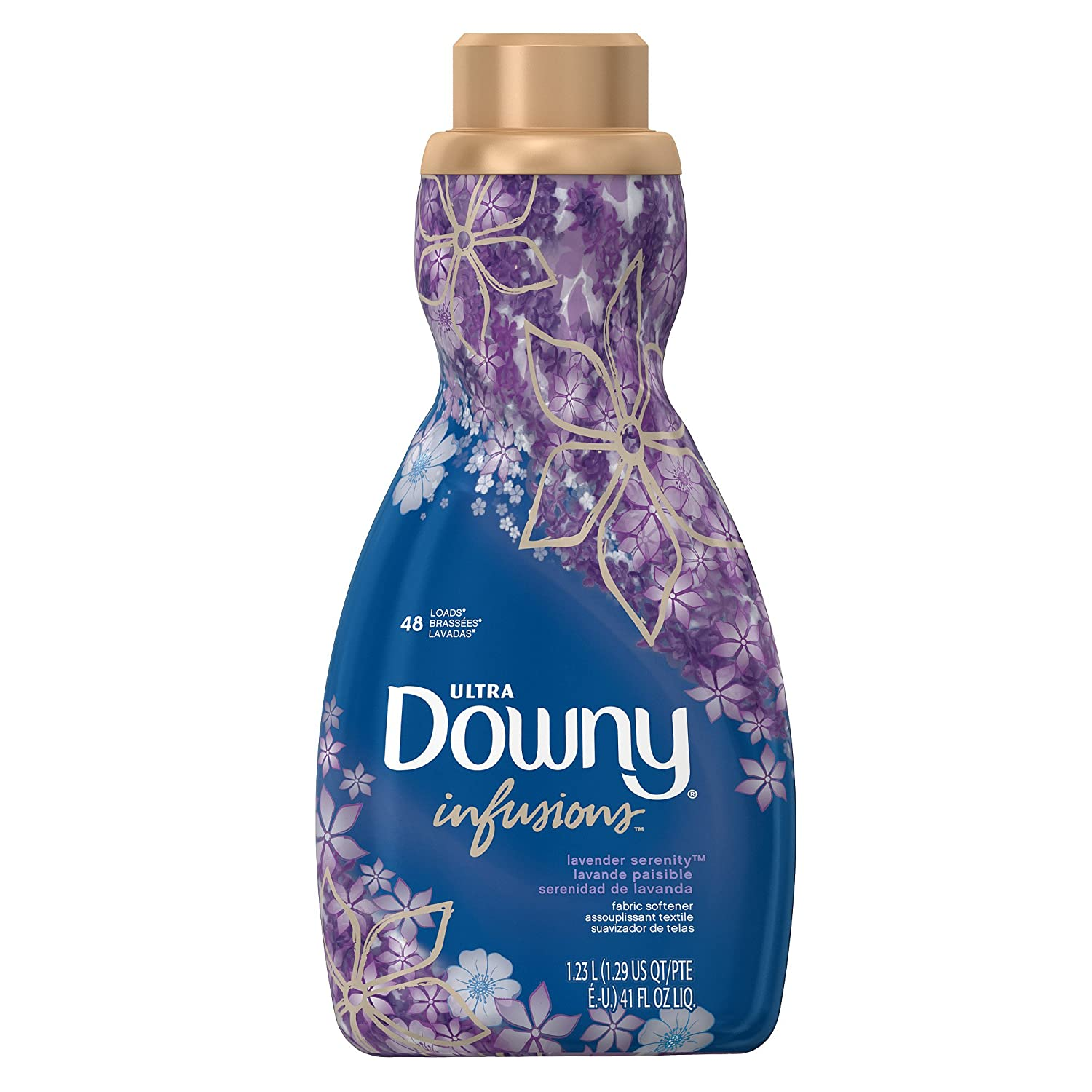 How Much Fabric Softener To Use Amazoncom Downy Infusions Lavender Serenity Liquid Fabric