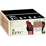 EPIC Chicken Sesame BBQ Protein Bars Whole30, Paleo Friendly, 12 ct, 18 oz