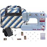Janome 15312 Blue Hello Kitty Sewing Machine with Bonuspack!