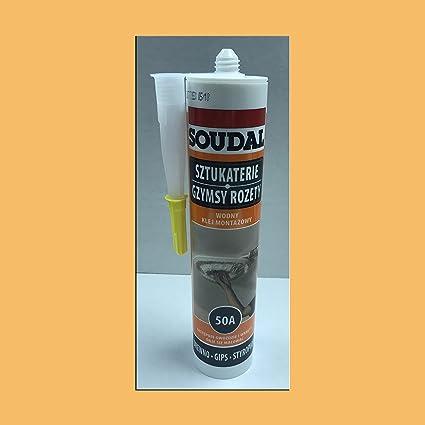 glue10 – para azulejos de techo de poliestireno – Adhesivo universal de un solo tubo