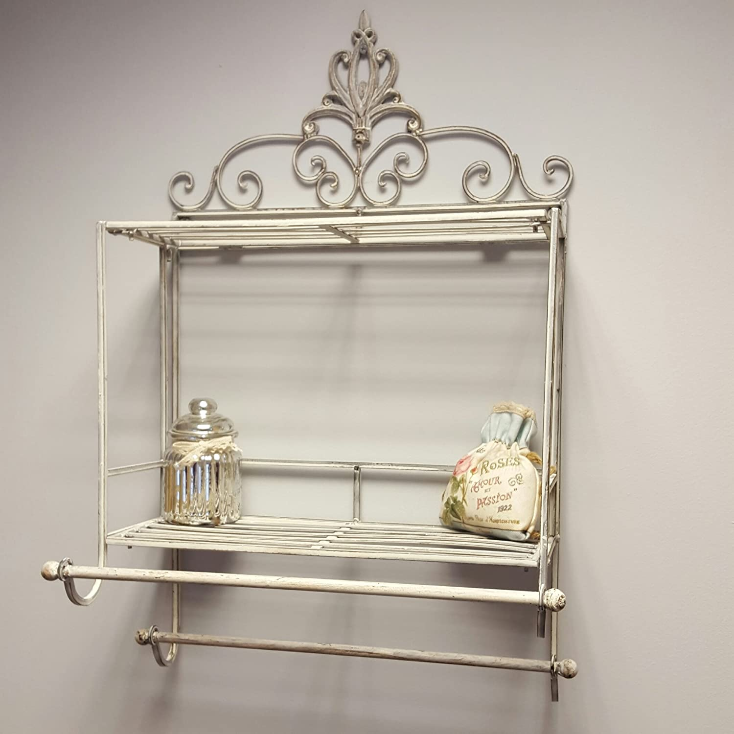 ornate italian chairish product crown italy in aspect gilt made wall height shelf canopy silver fit bed width