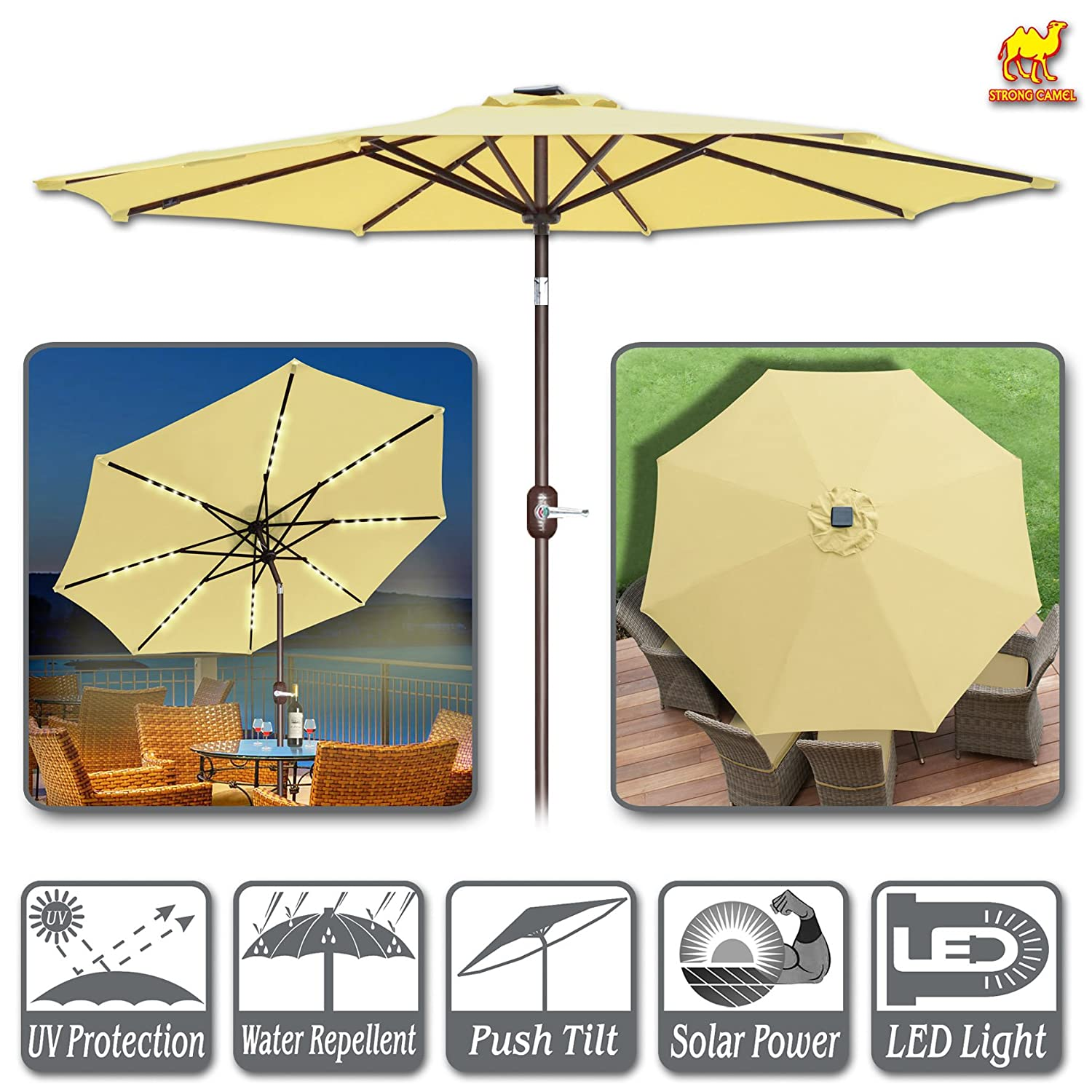 Strong Camel Solar Umbrella