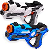 Laser Tag for Kids Laser Tag Gun Set of 2 Multiplayer Infrared Toy Lazer Tag Guns for Kids Laser Tag Kit Lazer Tag Set 2 by Impero