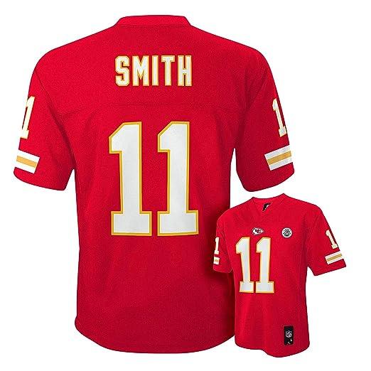 newest fd7ca da623 Alex Smith Kansas City Chiefs Red Kids Mid-Tier Jersey